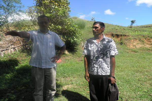 Pastor Conan and Brother Navin