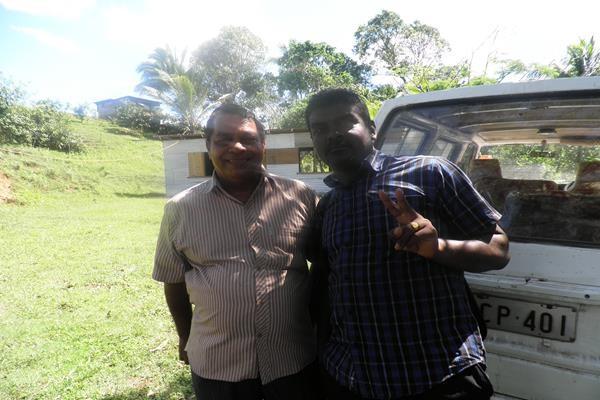 Vijay and Parmar Before Visits