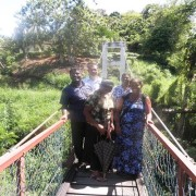 Photo at the shaking bridge