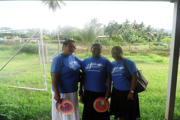 2nd day of visit – 3 ladies before visiting