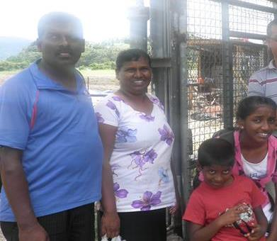 Vijay Raj and Family